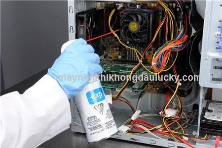 bình khí nén mini vệ sinh máy tính